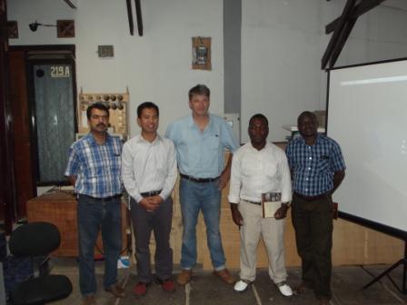 electronic load controller manufacturer Visit UNIDO representative (Austria) & Entec AG Swiss