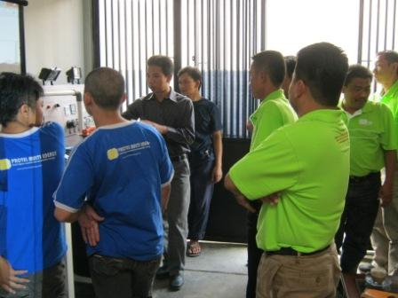 electronic load controller manufacturer Workshop Visit from Crystal Power Malaysia