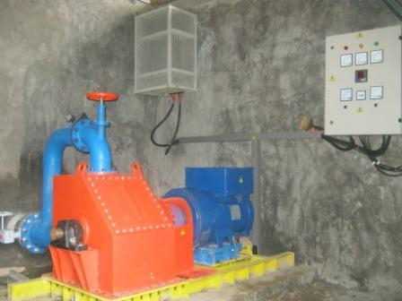 electronic load controller manufacturer Complete water to wire, 75kW Sulawesi